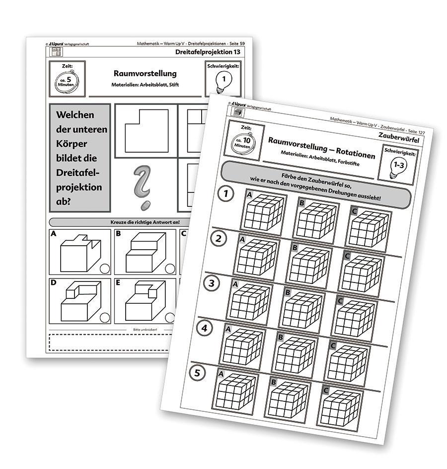 Warm Up V - Kopfgeometrie - Spiel- und Unterrichtsmaterialien ...