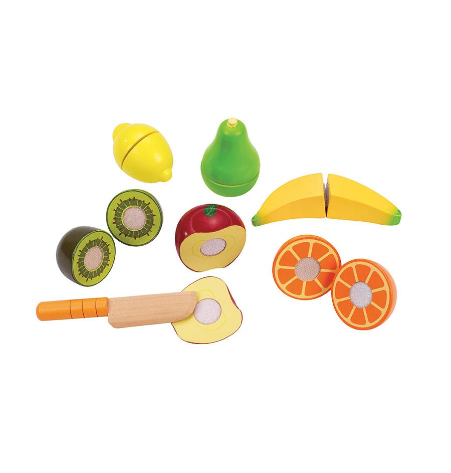 holzfrüchte für Spielküchen