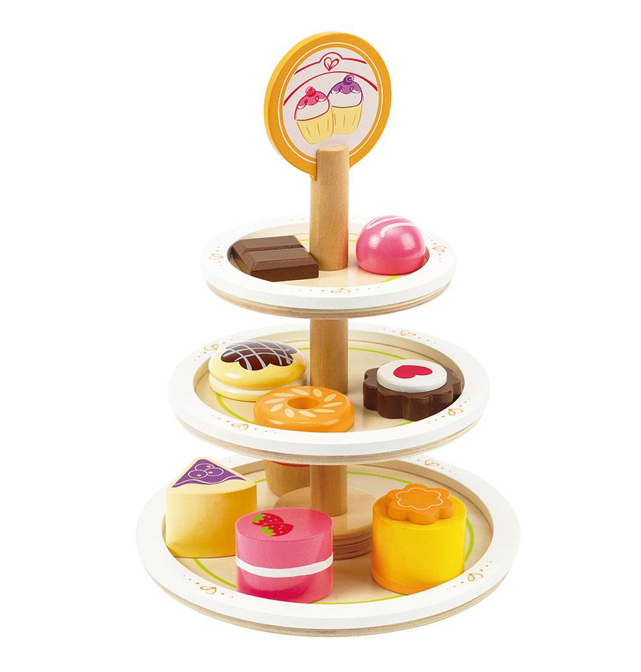 dessertteller für Spieleküchen