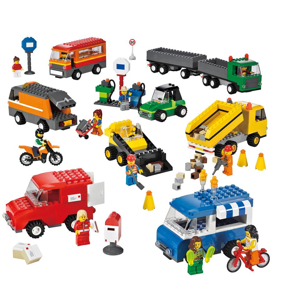 lego education fahrzeuge set