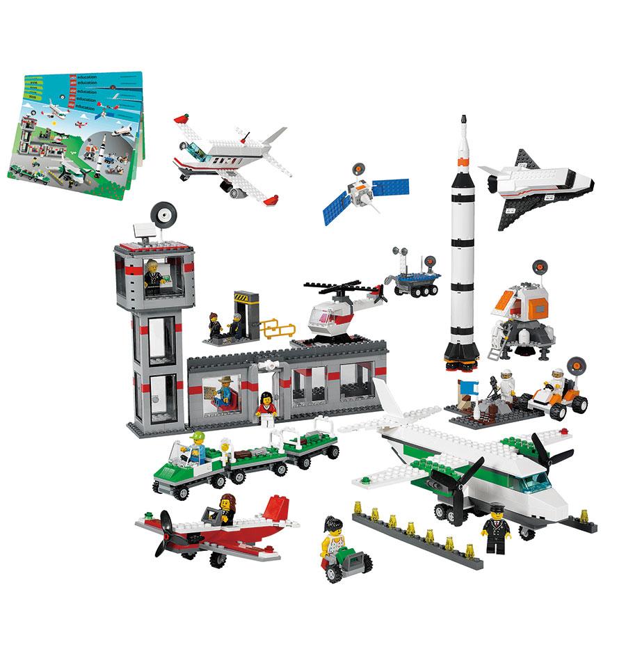lego education weltraum und flughafen set