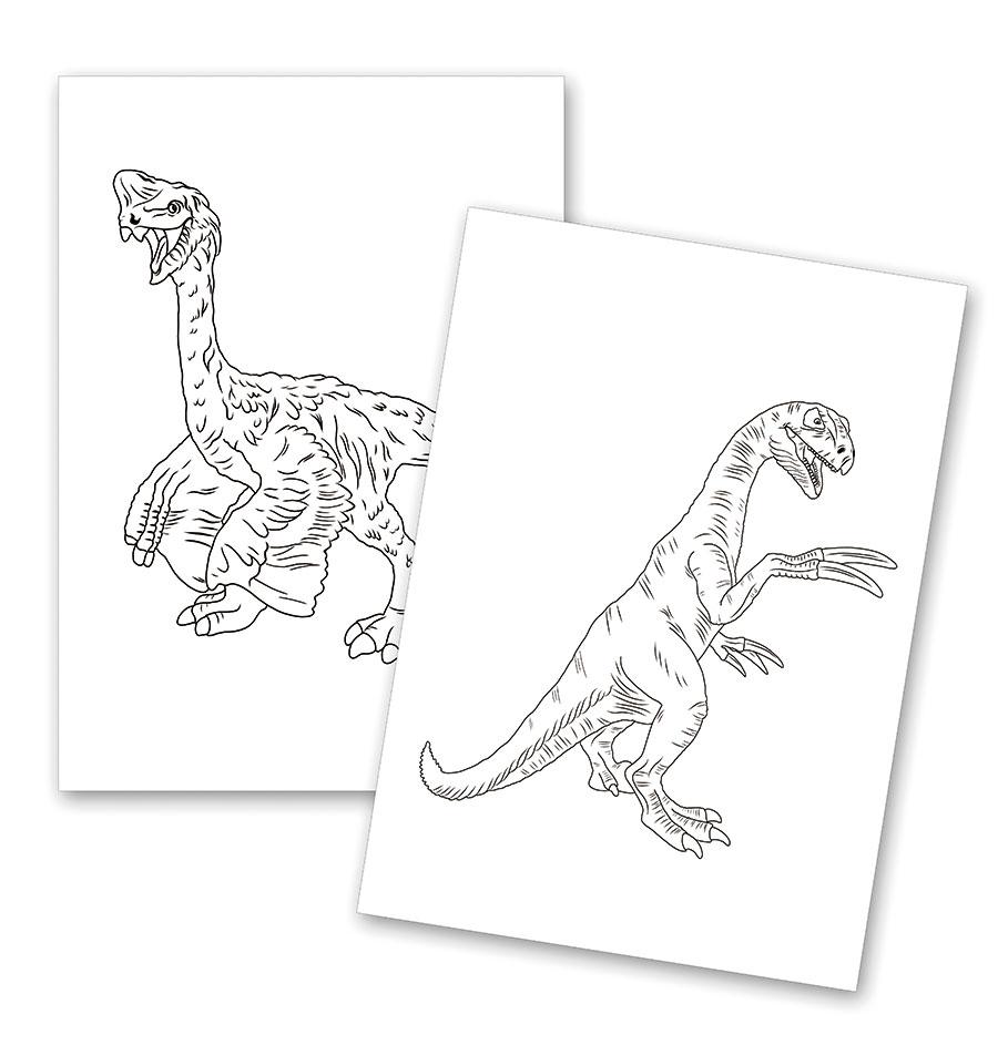Dinosaurier Spiel Und Unterrichtsmaterialien Lipura Rapuli